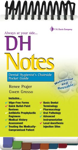 Dh Notes: Dental Hygienist's Chairside Pocket Guide 9780803625419