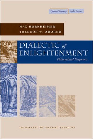 Dialectic of Enlightenment 9780804736336
