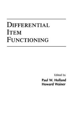 Differential Item Functioning 9780805809725