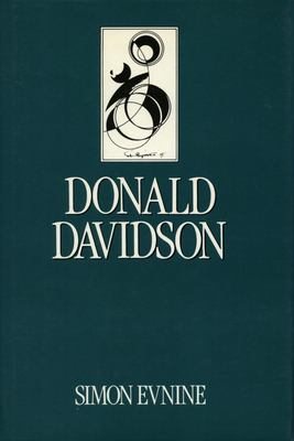 Donald Davidson 9780804718530