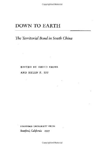 Down to Earth: The Territorial Bond in South China 9780804724340