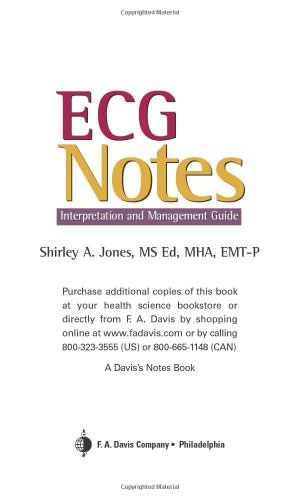 ECG Notes: Interpretation and Management 9780803613478