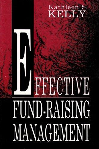 Effective Fund-Raising Management 9780805820102