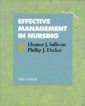 Effective Management in Nursing