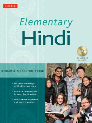 Elementary Hindi: An Introduction to the Language [With CD (Audio)] 9780804839624