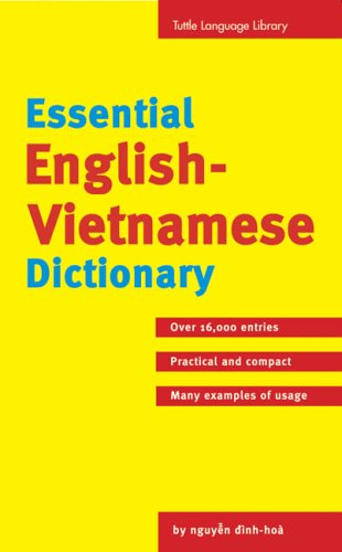 Essential English-Vietnamese Dictionary Essential English-Vietnamese Dictionary 9780804816618