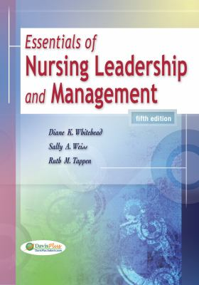 Essentials of Nursing Leadership and Management 9780803622081