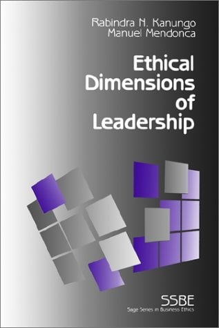 Ethical Dimensions of Leadership 9780803957886