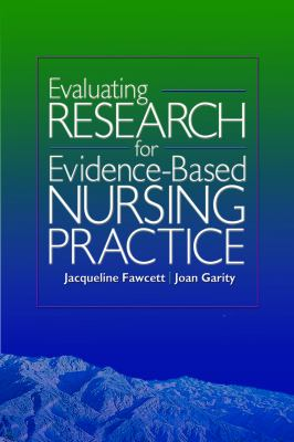 Evaluating Research for Evidence-Based Nursing Practice [With CDROM] 9780803614895