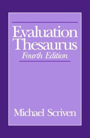 Evaluation Thesaurus 9780803943643