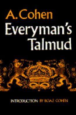Everyman's Talmud 9780805204971