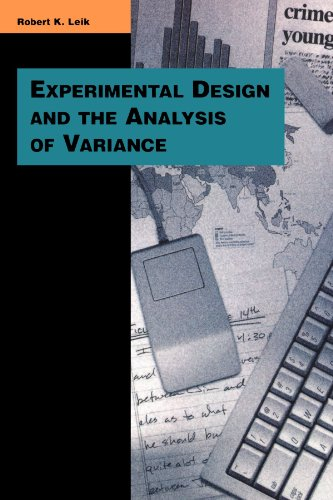 Experimental Design and the Analysis of Variance 9780803990067