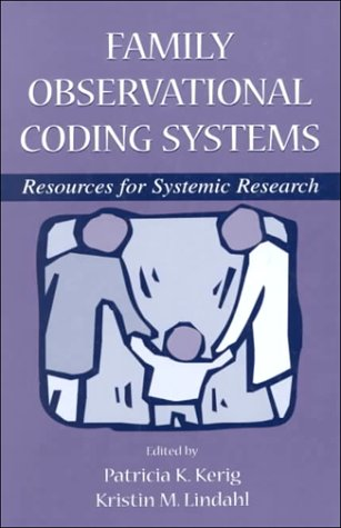Family Observational Coding System 9780805833232