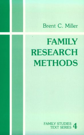 Family Research Methods 9780803921443