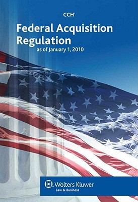 Federal Acquisition Regulation as of January 1, 2010 9780808022480
