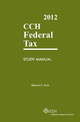 Federal Tax Study Manual (2012) 9780808026211