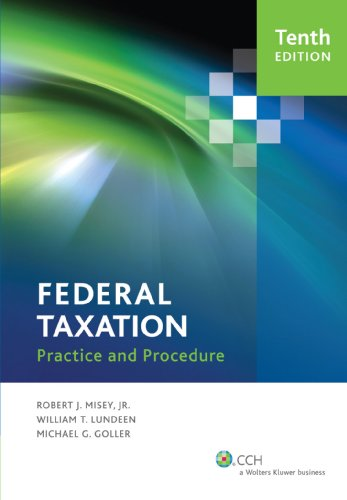 Federal Taxation Practice and Procedure 9780808026860