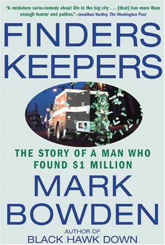 Finders Keepers: The Story of a Man Who Found $1 Million 9780802140210
