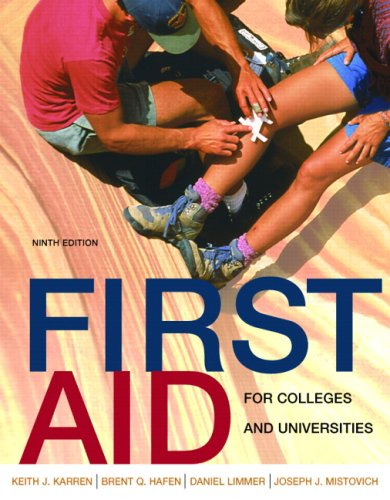 First Aid for Colleges and Universities 9780805346251