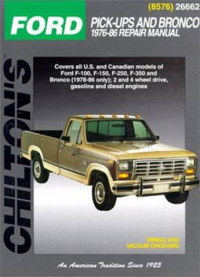Ford: Pick-Ups and Bronco 1976-86 9780801985768