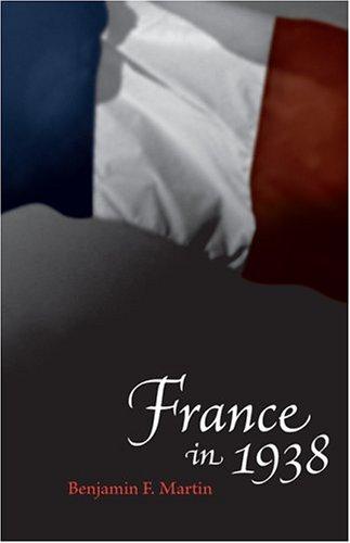 France in 1938 9780807130506