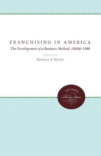 Franchising in America 9780807843789