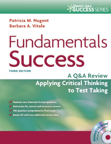 Fundamentals Success: A Q&A Review Applying Critical Thinking to Test Taking [With CDROM]