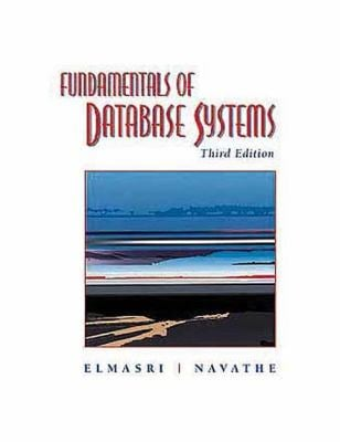 Fundamentals of Database Systems 9780805317558