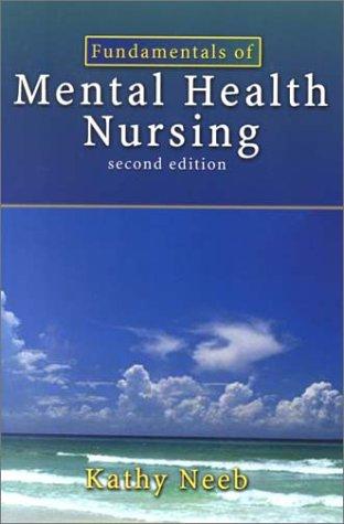 Fundamentals of Mental Health Nursing 9780803607286