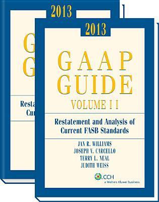 GAAP Guide (2013) 9780808031017
