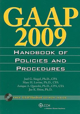 GAAP Handbook of Policies and Procedures [With CDROM] 9780808091820