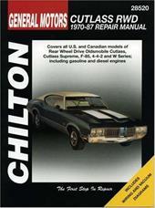 GM Cutlass Rwd 1970-87 3228680