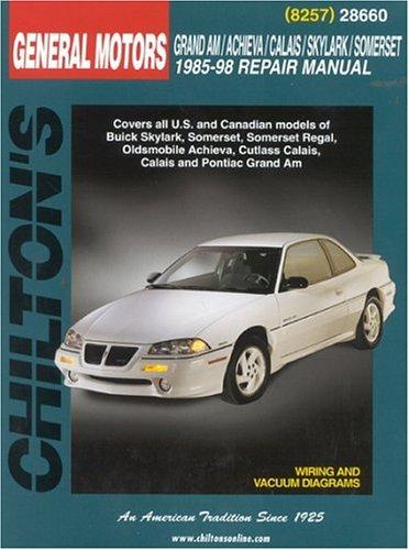 GM Grand Am/Achieva/Calais/Skylark/Somerset 1985-98 9780801991066
