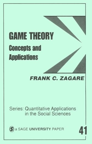 Game Theory: Concepts and Applications 9780803920507