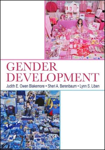 Gender Development 9780805841701