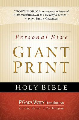 God's Word Personal Size Giant Print Bible-GW 9780801013409