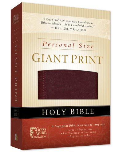 God's Word Personal Size Giant Print Bible-GW 9780801013416