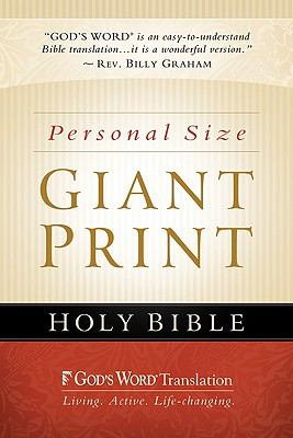 God's Word Personal Size Giant Print Bible-GW 9780801072376