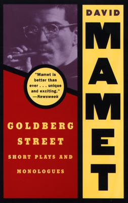Goldberg Street: Short Plays and Monologues 9780802151049
