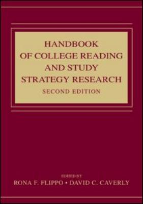 Handbook of College Reading and Study Strategy Research 9780805860016