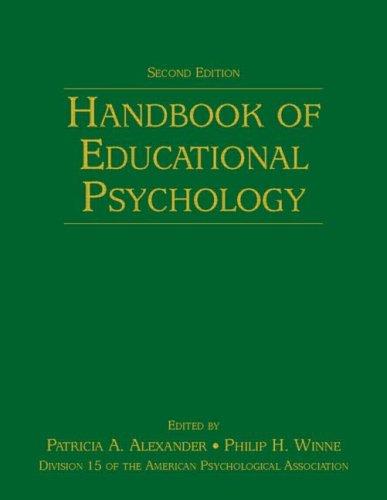 Handbook of Educational Psychology 9780805859713