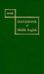 Handbook of Middle English