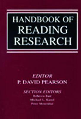 Handbook of Reading Research V1 9780805841503