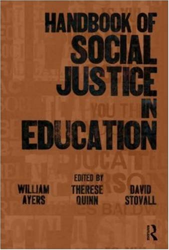 Handbook of Social Justice in Education 9780805859287