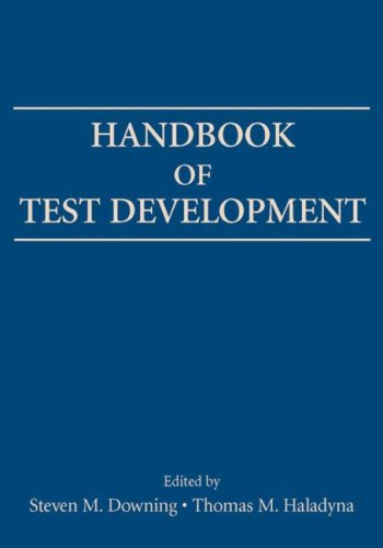 Handbook of Test Development 9780805852653