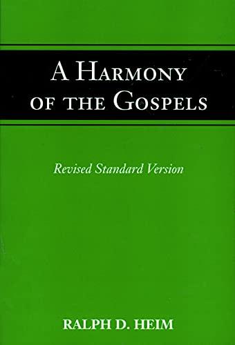 Harmony of the Gospels 9780800614942