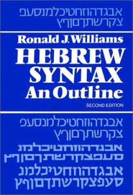 Hebrew Syntax 9780802022189