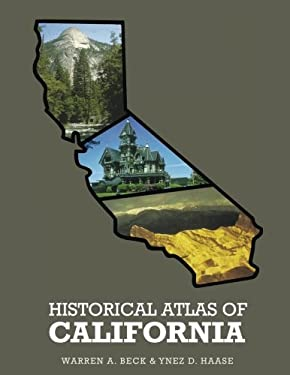 Historical Atlas of California, 9780806112121
