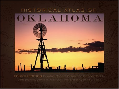 Historical Atlas of Oklahoma 9780806134826