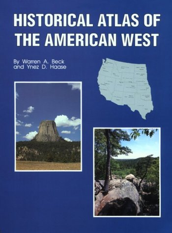 Historical Atlas of the American West 9780806124568